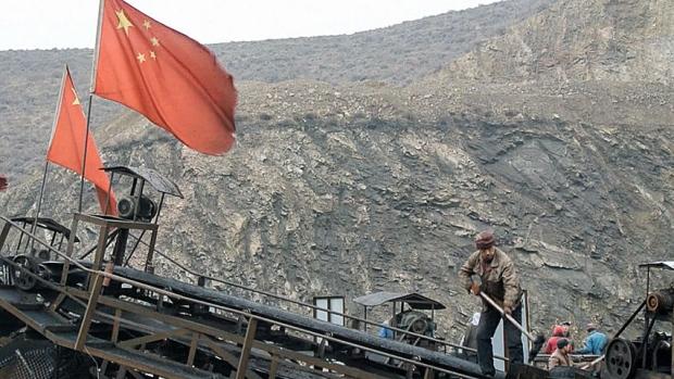 china-coal-mine-flag