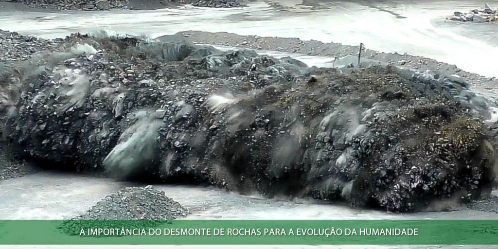 Desmonte de rocha