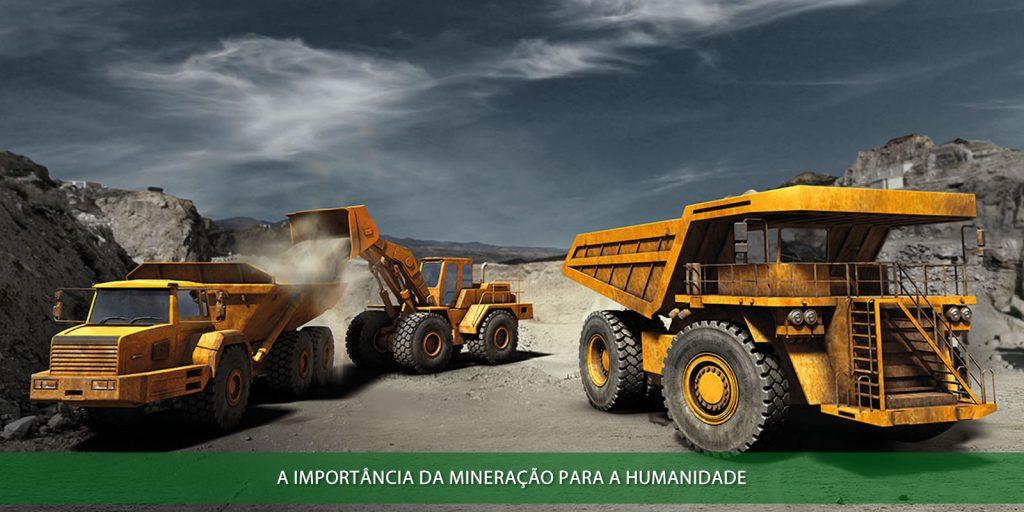 A importância da mineração para a humanidade